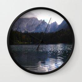 Lake Atmosphere Wall Clock