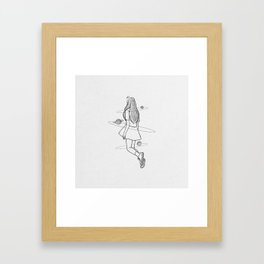 Lossless soul. Framed Art Print