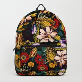 Japanese Floral Pattern Backpack