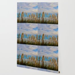 Fort Bragg's Ocean Cattails Wallpaper