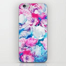 FLORAL GARDEN Peony & Magnolia iPhone Skin