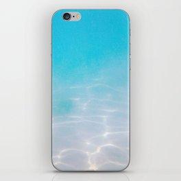 Misty Blue Pacific Ocean Floor iPhone Skin