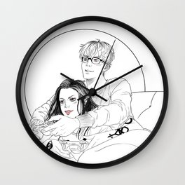 Sizzy Wall Clock