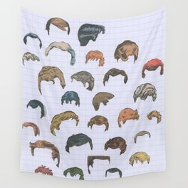 Hairarchy Wall Tapestry