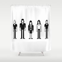 dc Shower Curtains featuring AC/DC by Band Land