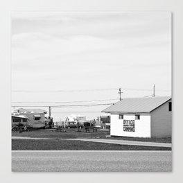 la fin des terres 6 Canvas Print