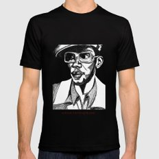 Mighty Mos Def Mens Fitted Tee Black LARGE
