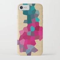 crystals iPhone & iPod Cases featuring Crystals by Samantha Ranlet