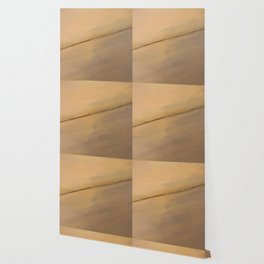 Abstract Beige Shades.  Like painted on canvas. Wallpaper