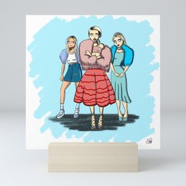Idiot Hookers Mini Art Print