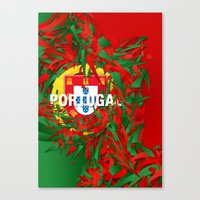 portugal Canvas Prints featuring Portugal by Danny Ivan