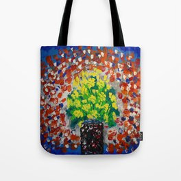 Yellow Flowers #54 Tote Bag