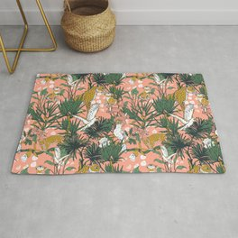 ANIMALS IN THE RAINFOREST I Rug