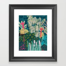 The Giraffes Framed Art Print