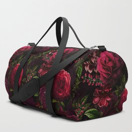 Mystical Night Roses Duffle Bag