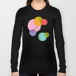 Rainbow Bubbles Long Sleeve T-shirt