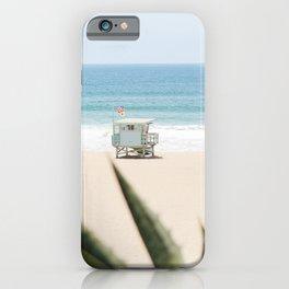 Manhattan Beach California iPhone Case