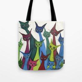 Coronado Whimsical Cats Tote Bag