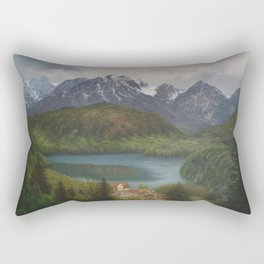 From the Castle Window Rectangular Pillow