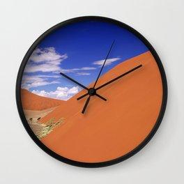 Dune in the Namib desert - Namibia Wall Clock