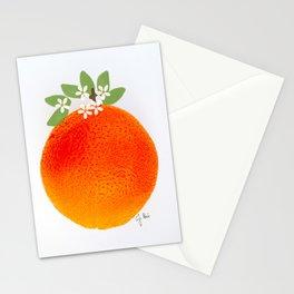 Illustrated Orange Stationery Cards