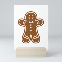 Gingerbread Hugs Mini Art Print