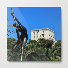 View of Villa La Vigie Monte-Carlo Metal Print