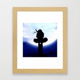 uchiha itachi Framed Art Print