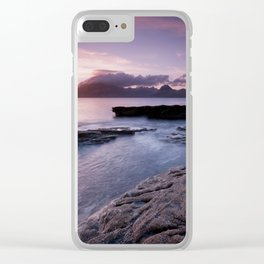 Elgol Beach IV Clear iPhone Case