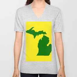 Michigan Football Unisex V-Neck