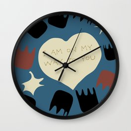 Lasting love Wall Clock