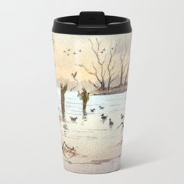 Setting The Decoys II Travel Mug