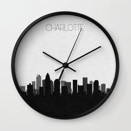 City Skylines: Charlotte Wall Clock