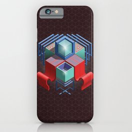 Abstract Cube 01 iPhone Case