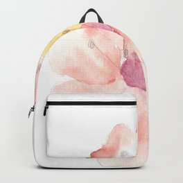 Lonely Object 1   Abstract Watercolors Backpack