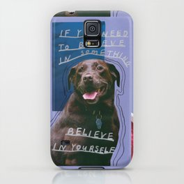 dog knows best iPhone Case