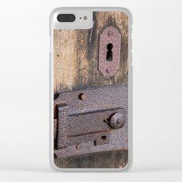 Lock Clear iPhone Case