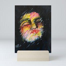 NIGHT RAIN Mini Art Print