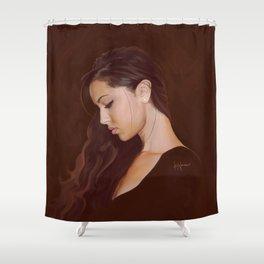 Erika Portrait Shower Curtain