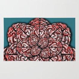 Brain Flower Rug