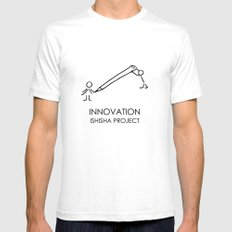 INNOVATION by ISHISHA PROJECT Mens Fitted Tee White SMALL