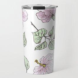 Humble Hibiscus Travel Mug