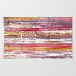 Lavender blush abstract watercolor Rug