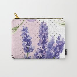 Bright Lavender Carry-All Pouch