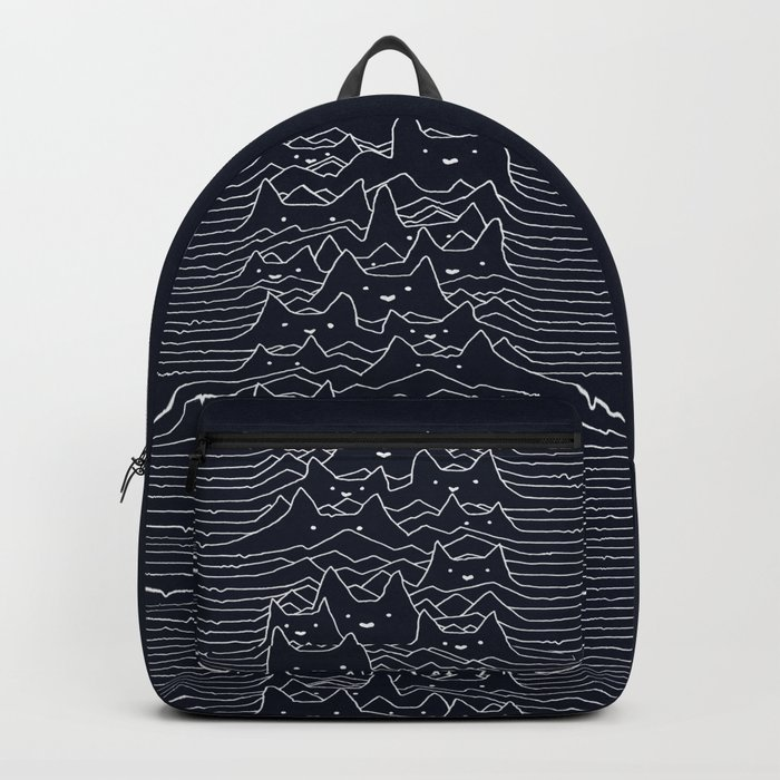 Furr Division Cats (Dark Blue) Backpack