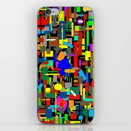 BUILDING THE DREAM iPhone Skin
