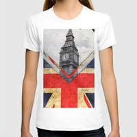 uk T-shirts featuring Flags - UK by Ale Ibanez