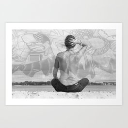 Alternate Reality. Art Print