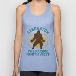 Sasquatch The Pacific North West PNW Bigfoot product Unisex Tank Top