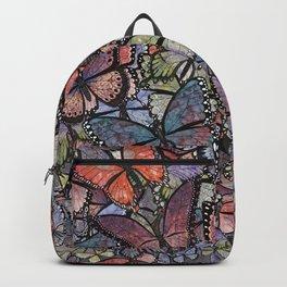 butterflies galore grunge version Backpack